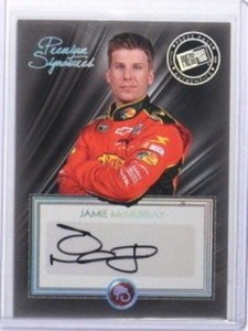 2010 Press Pass Premium Signatures Jamie Mcmurray auto autograph *33628