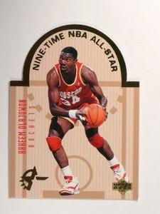 93-94 Upper Deck SE All-star Diecut Hakeem Olajuwon #W6 *46753