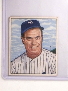 1950 Bowman Hank Bauer Rookie RC #219 VG-EX *66852