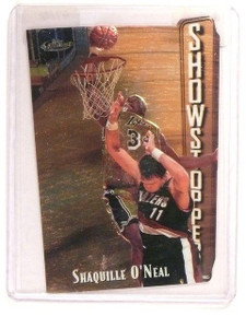 1997-98 Topps Finest Shaquille O'Neal Showstoppers Embossed #309 *45793