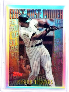 1996 Topps Mystery Finest Refractor Frank Thomas #M21 *59947