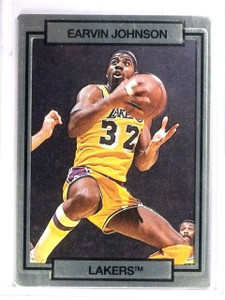 1990 Action Packed Promos sample Gold Magic Johnson  *61401