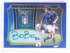 2015 Select Soccer Historic Blue Christian Vieri autograph auto #D93/99 *53458