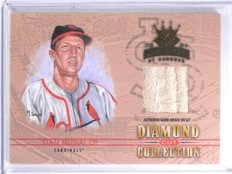 2004 Donruss Diamond Kings Diamond Cut Stan Musial Jersey #D01/10 #DC47 *60149