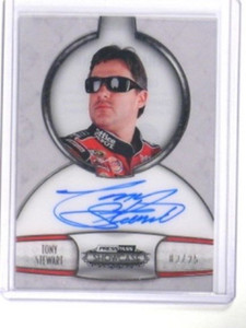 2011 Press Pass Showcase Champions Ink Tony Stewart auto #D02/25 *33334