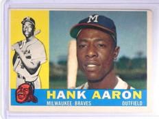 1960 Topps Hank Aaron #300 VG  *61534