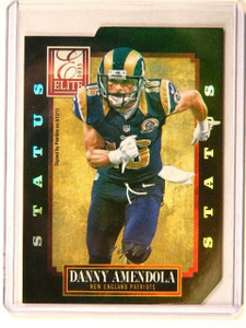 2013 Donruss Elite Status Black Parallel Danny Amendola #D 1/1 #60 *41250