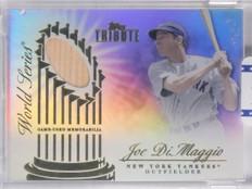2012 Topps Tribute World Series Swatches Joe DiMaggio Bat #D22/49 #WSSJD *65687