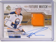14-15 Sp Authentic Nicolas Deslauriers autograph patch rc #D81/100 #275 *51829