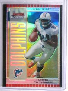2005 Bowman Chrome Silver Refractor Chris Chambers #D07/50 #26 *62665
