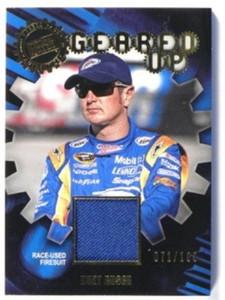 2011 Press Pass Geared Up Kurt Busch Race Used firesuit #D71/100 *32630
