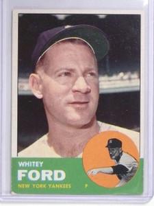 1963 Topps Whitey Ford #446 VG-EX *60514