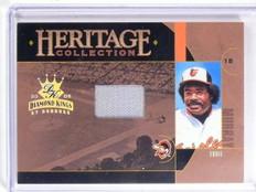2005 Diamond Kings heritage Collection Eddie Murray Jersey #D009/100 #HC10 *6642