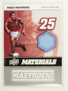 2008 Upper Deck MLS Soccer Pablo Mastroeni jersey *31287