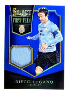 2015 Select Soccer Diego Lugano First Team Jersey Blue #D38/99 #FTDL *54262
