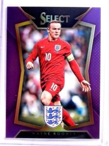 2015 Select Soccer Wayne Rooney Purple Prizm #D63/99 #31 *54049