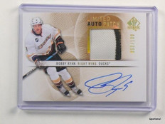 12-13 Sp Authentic Limited Bobby Ryan autograph auto rc 3clr patch #D52/100 *436