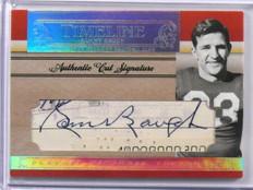 2007 National Treasures Timeline Sammy Baugh Cut auto autograph #D09/50 *39065