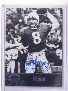 2011 Upper Deck NCAA College Legends Steve Young autograph auto #6 sp! *44529