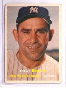 1957 Topps Yogi Berra #2 Fair *55158
