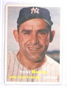 1957 Topps Yogi Berra #2 Fair *60506