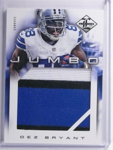 2011 Panini Limited Jumbo Dez Bryant Patch #D07/10 #9 *65205