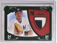2016 Topps Museum Collection Meaningful Green C.C. Sabathia patch #d 1/1 *55126