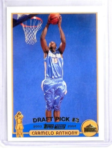 2003-04 Topps Collection Carmelo Anthony Rookie RC #223 *56814