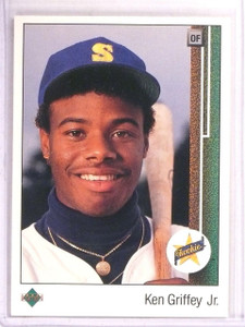 1989 Upper Deck Ken Griffey Jr. rc rookie #1 *67497