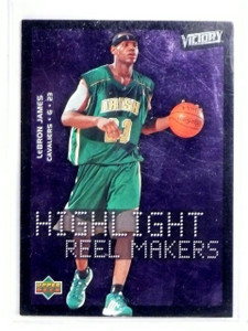 2003-04 UD Victory LeBron James Highlight Reel Makers Rookie RC #222 *56791