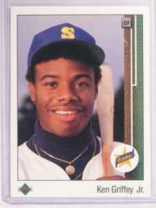 1989 Upper Deck Ken Griffey Jr. rc rookie #1 *67475