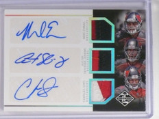 2014 Limited Mike Evans Seferian-Jenkins Charles Sims auto patch rc #D5/5 *49293
