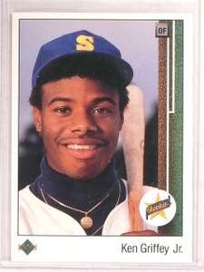 1989 Upper Deck Ken Griffey Jr. rc rookie #1 *67448