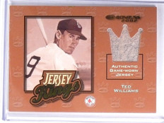 2002 Donruss Jersey Kings Ted Williams jersey #D14/125 #JK-14 Red Sox *58459