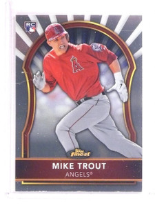 2011 Topps Finest Mike Trout rc rookie #94 *67381