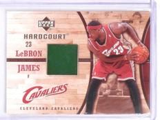 2006-07 Upper Deck Hardcourt LeBron James Game Used Floor #GF13 *56755