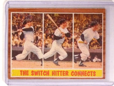1962 Topps Mickey Mantle IA #318 VG-EX *67370