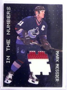 1999-00 BAP Mark Messier In The Numbers Jersey Patch SP #N11 sp/30 *55379