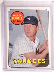 1969 Topps Mickey Mantle #500 VG-EX *67358