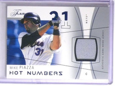 2004 Flair Hot Numbers Blue Mike Piazza Jersey #D080/250 #HNMP *66251