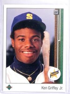 1989 Upper Deck Ken Griffey Jr. Rookie RC #1 *56923