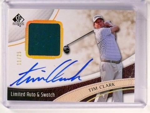 2014 Sp Authentic Limited Tim Clark autograph auto shirt #D11/25 #22 *46603