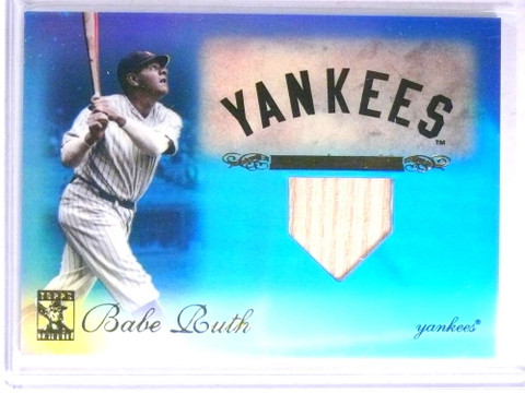 2009 Topps Tribute Blue Babe Ruth bat #D37/75 #1 *67633