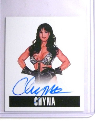 2014 Leaf Originals Wrestling Chyna autograph auto #C1 *67663