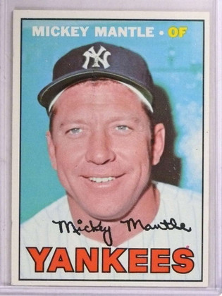 1967 Topps Mickey Mantle #150 EX *69226