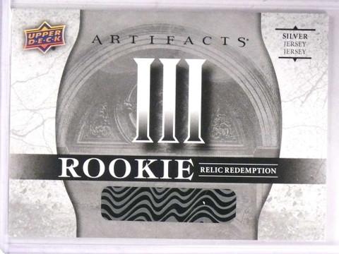 2017-18 Upper Deck Artifacts III Silver Rookie jersey Redemption  *69309