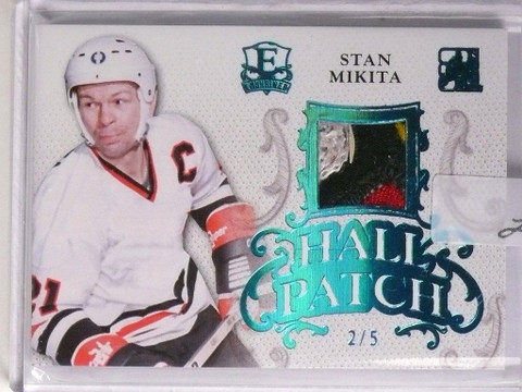 2016 Leaf Enshrined Hall Patch Stan Mikita 4clr patch #D2/5 *55198