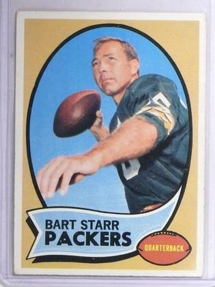 1970 Topps Bart Starr #30 Vg-EX  *60791