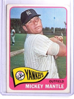 1965 Topps Mickey Mantle #350 VG *66521