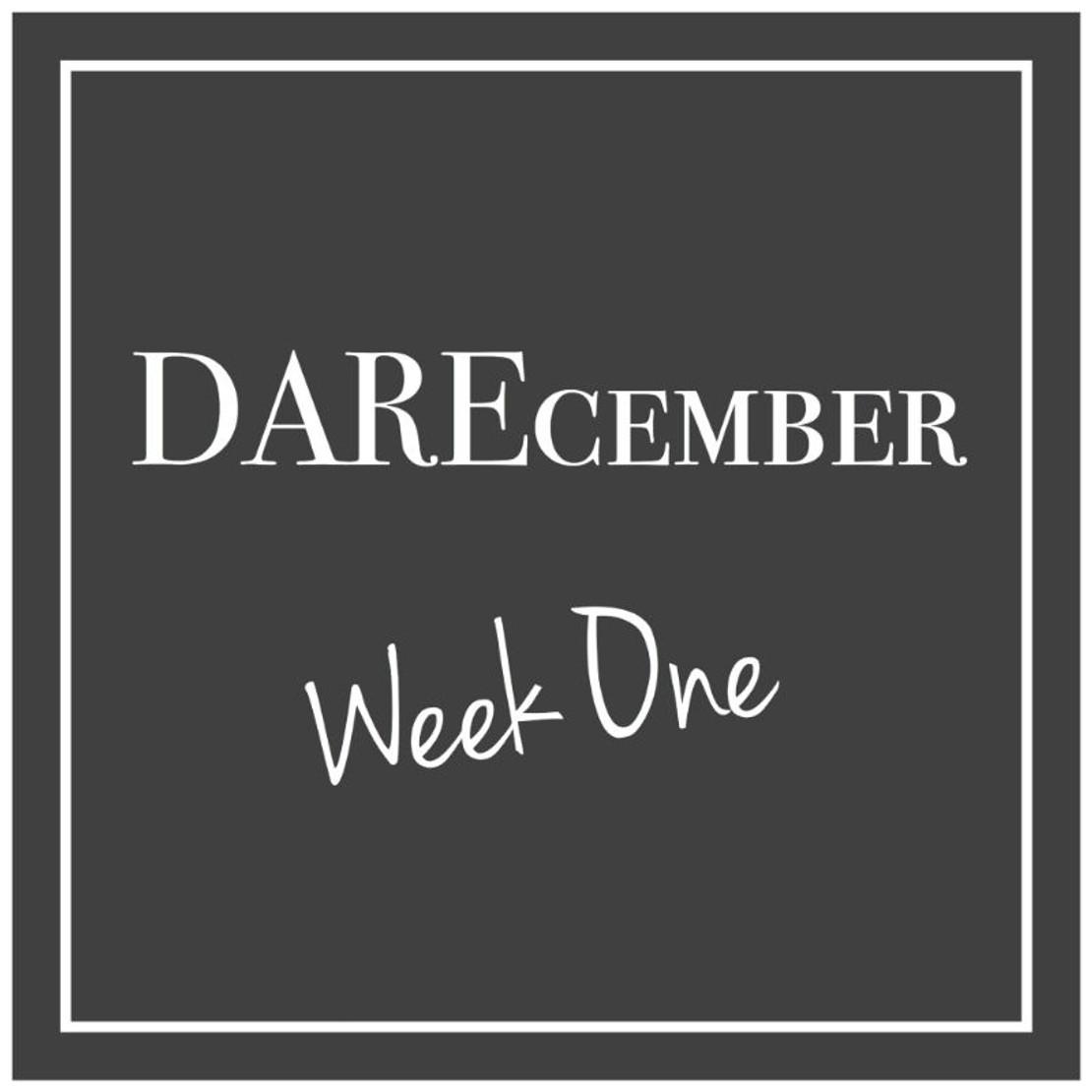 Fox In Flats DAREcember 2017: Week One